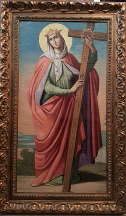 Ікона св. Олена 19 століття, фото 2