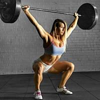 Резиновая плитка для фитнесс и тренажерного зала., фото 1