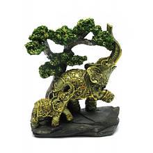 Сувенирная фигурка слоны под деревом