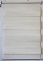 Готовые рулонные шторы Ткань Z-272 Кремовый