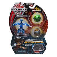 Bakugan Battle Planet Набор из 3 бакуганов Серпентез 29127617 Battle Brawlers Serpenteze Starter Pack