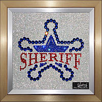 Логотип из кристаллов Swarovski - VIP подарок