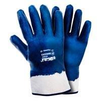 Перчатки трикотажные c нитриловым покрытием (синие краги) (9443361), 120 пар (9443371)) Sigma