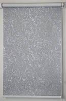 Готовые рулонные шторы Блэкаут Miracle Серый 600*1500