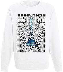 """Свитшот Rammstein """"Paris"""" (белый)"""