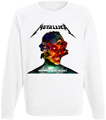 "Свитшот Metallica ""Hardwired...To Self-Destruct"" (белый)"