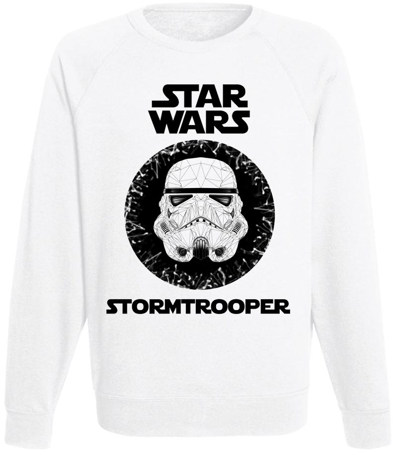 Свитшот Star Wars - Stormtrooper (белый)