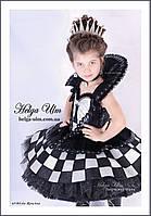 """Карнавальний костюм """"Шахова королева"""", """"Шахматная королева"""". Прокат по Україні, фото 1"""