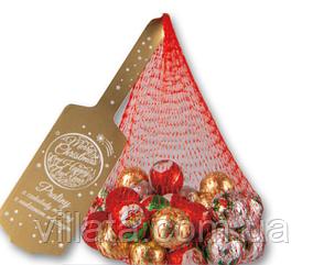 Шоколадные шарики Praline в сеточке Новогодние сладости 180гр