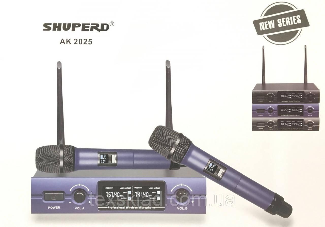 Микрофоны беспроводные SHUPERD AK-2025