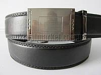 """Ремень мужской брючный автомат металл (кож.зам, 35 мм.)   """"Remen"""" LM-638"""