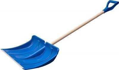 Лопата снегоуборочная синяя ABC большая