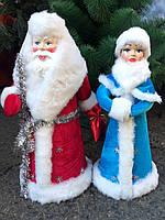 Дед Мороз и Снегурочка под елку 50 см