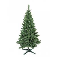 Зеленая Европейская елочка искусственная высота 1.5 м