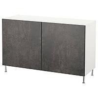IKEA BESTA Тумба под телевизор 120x40x74 см (892.670.10), фото 1