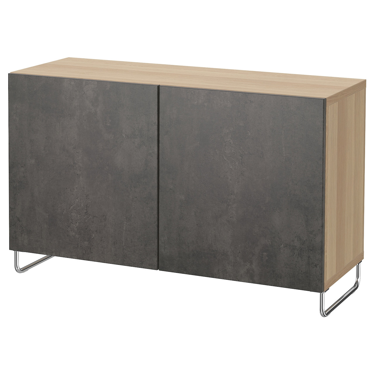 IKEA BESTA Тумба под телевизор 120x40x74 см (992.670.62), фото 1