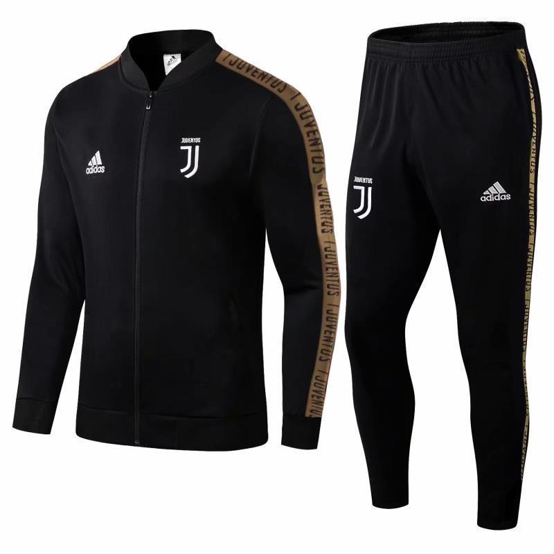 Спортивный костюм Ювентус/Juventus ( Италия, Серия А ), черный, сезон 2019-2020
