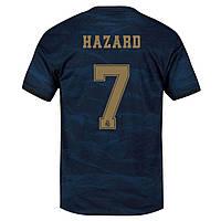 Детская футбольная форма Реал Мадрид/Real Madrid Hazard 7(Испания, Примера), выездная, 19-20 фанатская версия