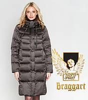Воздуховик Braggart Angel's Fluff 29775 | Зимняя женская куртка капучино, фото 1