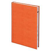 Ежедневник недатированный А5 Агенда Brunnen Wave, оранжевый