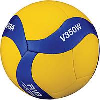 Мяч волейбольный mikasa v350w