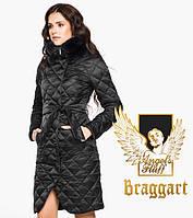 Воздуховик Braggart Angel's Fluff 31030 | Женская зимняя куртка черная, фото 1