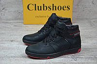 Мужские зимние ботинки Clubshoes черные