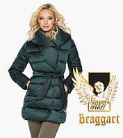 Воздуховик Braggart Angel's Fluff 31064 | Женская зимняя куртка изумруд, фото 1
