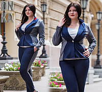 Пиджак женский  больших размеров
