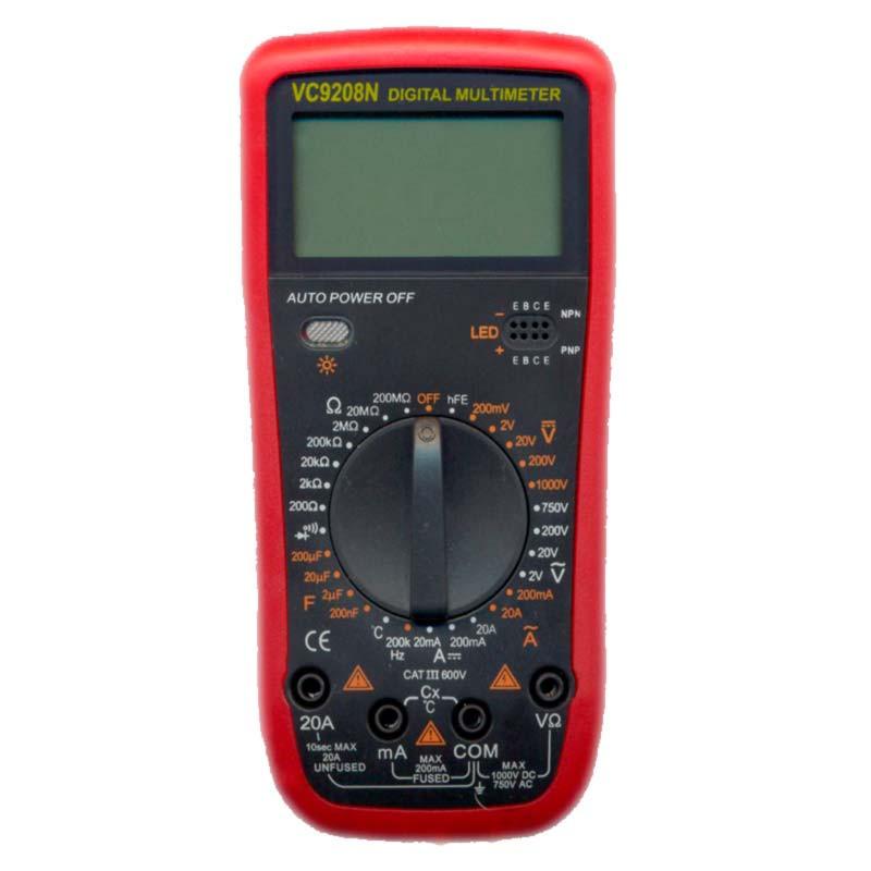 Цифровой профессиональный мультиметр VC9208N (45159)