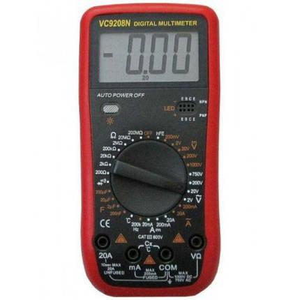 Цифровой профессиональный мультиметр VC9208N (45159), фото 2