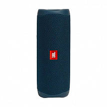 Акустична система JBL Flip 5 Blue (JBLFLIP5BLU), фото 3
