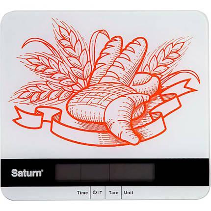 Весы кухонные SATURN Белый (ST-KS7807), фото 2