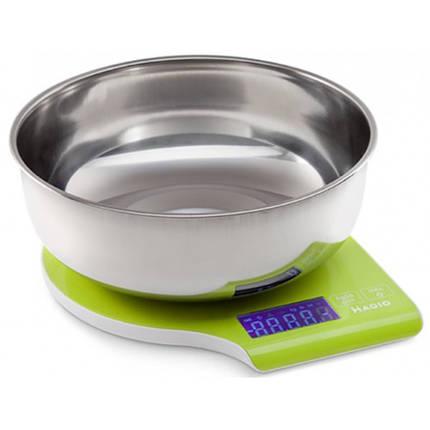 Весы кухонные MAGIO Зеленый (MG-292GR), фото 2