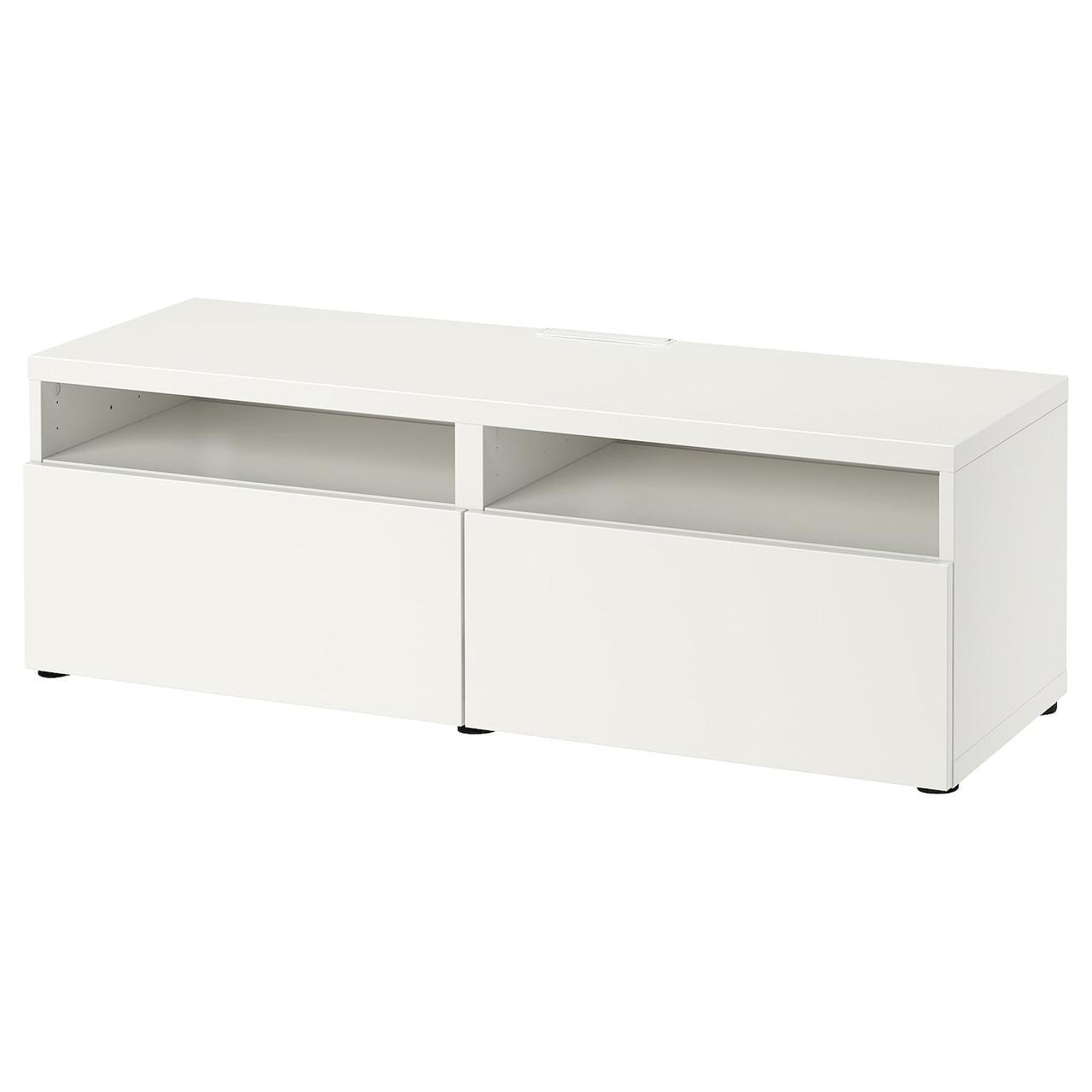 IKEA BESTA Тумба под телевизор 120x42x39 см (593.243.52), фото 1