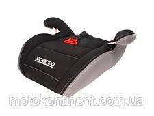 Детское Автокресло Бустер Sparco F100K Black/Grey - Италия  Для детей от 3-х до 12-ти лет, фото 2
