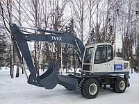 Новый экскаватор TVEX 140W