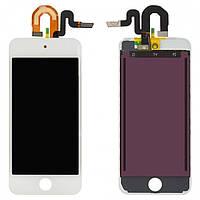 Дисплейный модуль (дисплей + сенсор) для iPod Touch 5G, белый, оригинал