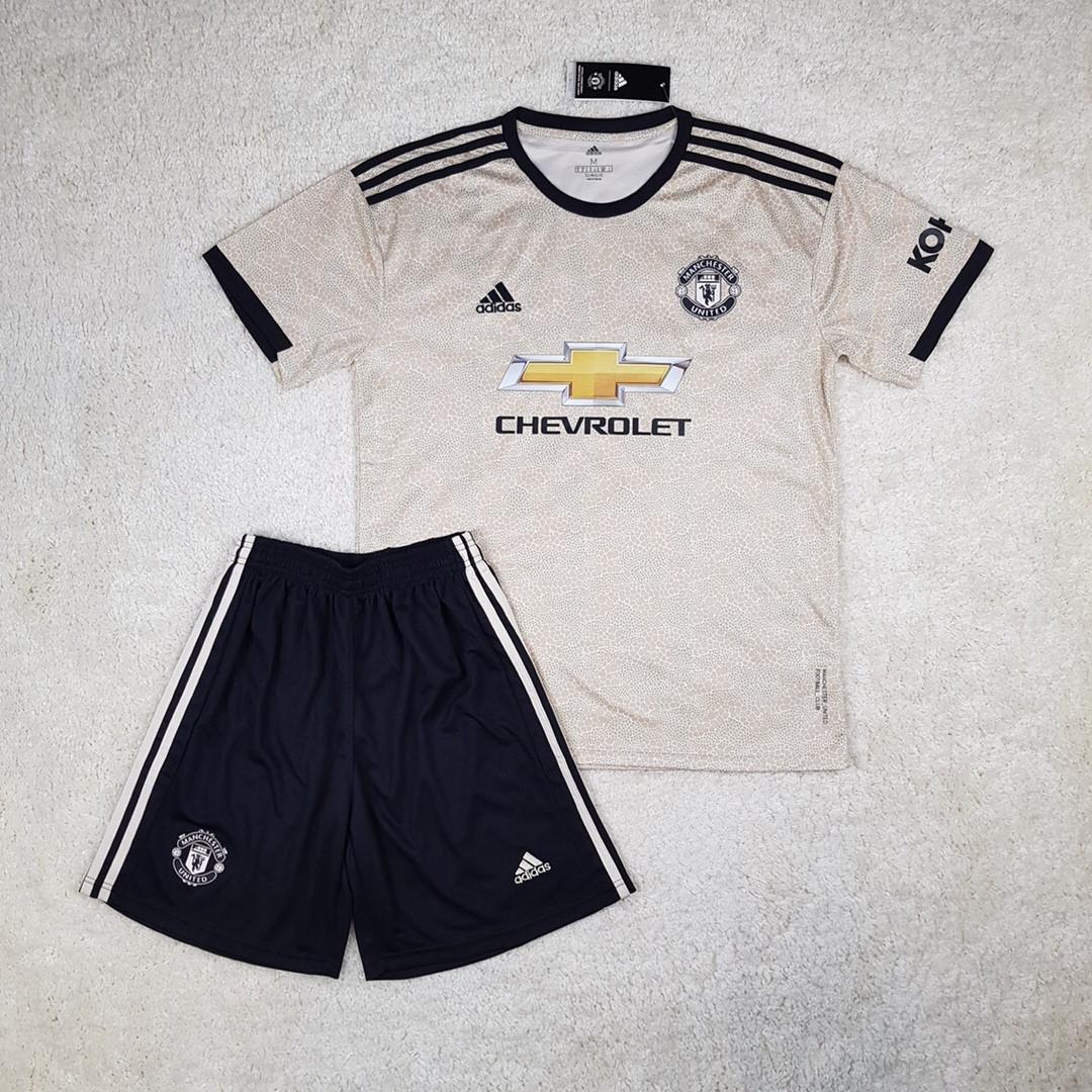 Футбольная форма Манчестер Юнайтед/Manchester United( Англия, Премьер Лига ), выездная, сезон 2019-2020