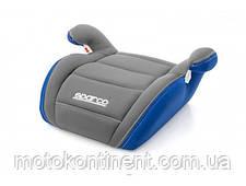 Детское Автокресло Бустер Sparco F100K Blue/Grey - Италия  Для детей от 3-х до 12-ти лет, фото 2