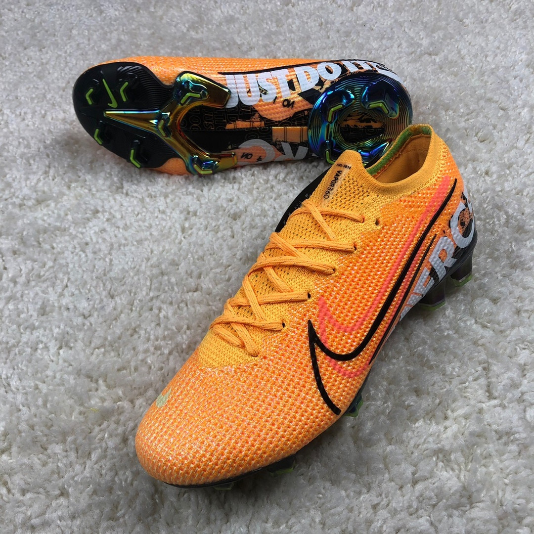 Бутсы Nike Mercurial Vapor 13 Elite FG Laser Orange replika
