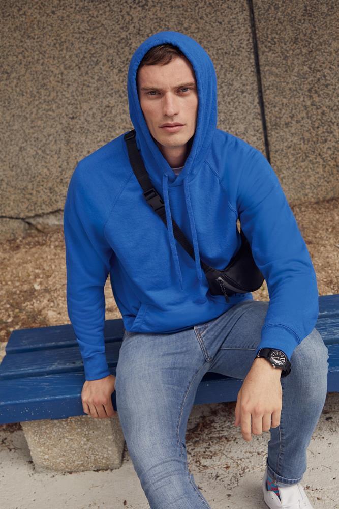 Мужская кофта с капюшоном LightWeight Hooded Sweat   Различных цветов TR-140