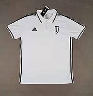 Футболка поло Ювентус/Juventus ( Италия, Серия А ), белая, сезон 2019-2020, фото 1
