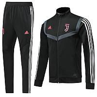 Детский спортивный костюм Ювентус/Juventus ( Италия, Серия А ), черный, сезон 2019-2020