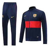 Спортивный костюм Барселона/Barcelona ( Испания, Примера ), синий, сезон 2019-2020