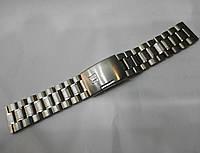 Браслет к часам Tissot - нержавейка, цвет серебро