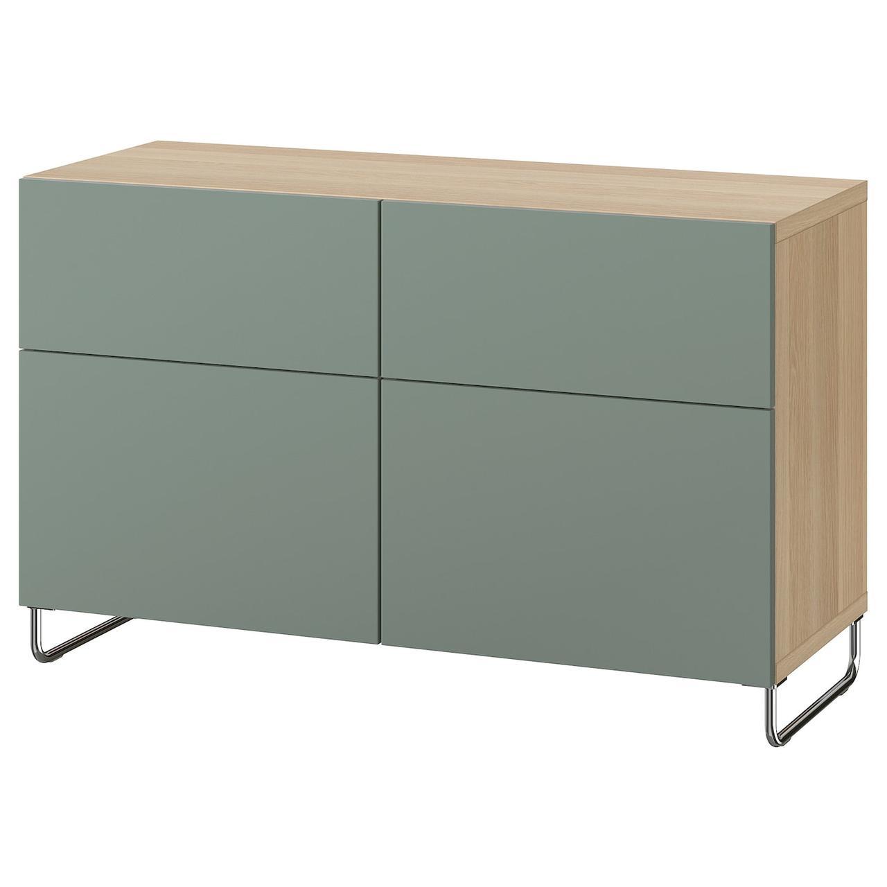 IKEA BESTA Тумба под телевизор 120x42x74 cm (893.019.81), фото 1
