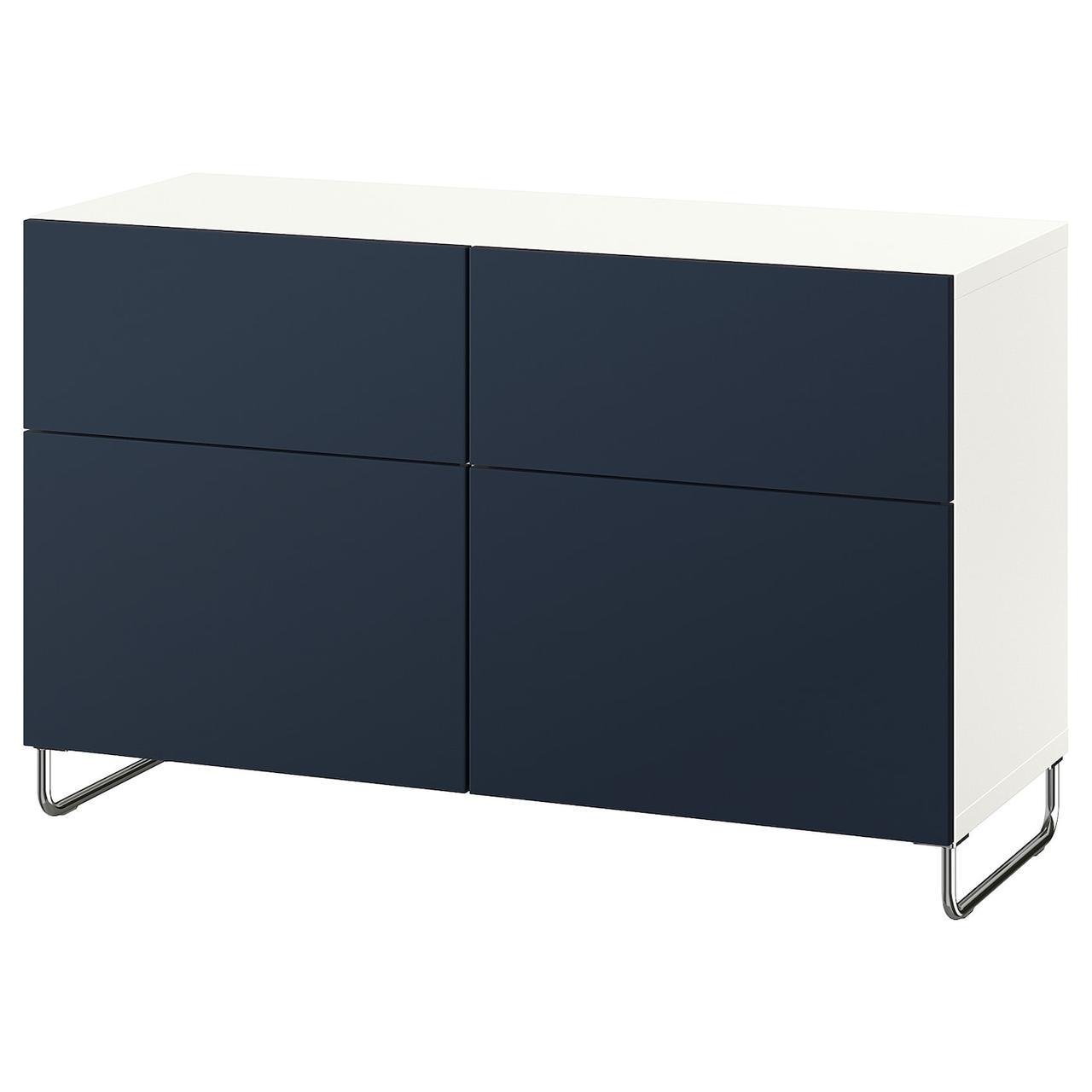 IKEA BESTA Тумба под телевизор 120x42x74 cm (992.990.20), фото 1