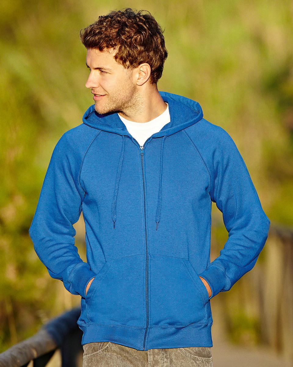 Лёгкая мужская толстовка на молнии LightWeight Hooded Sweat Jacket   Различных цветов TR-144