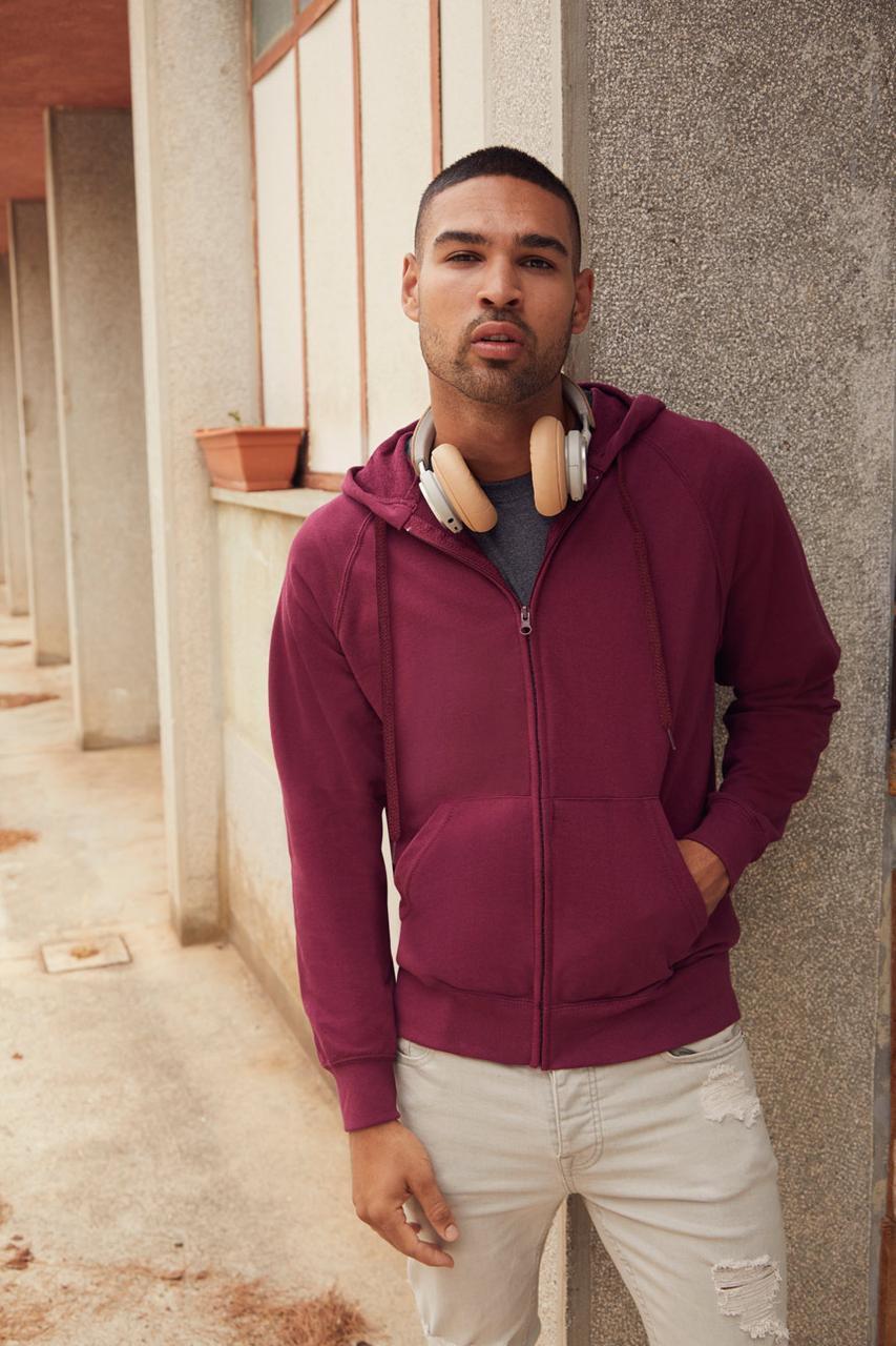 Мужская толстовка на молнии Classic Hooded Sweat Jacket   Различных цветов TR-062